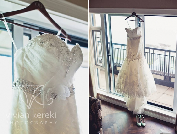 wedding dress oak bay beach hotel
